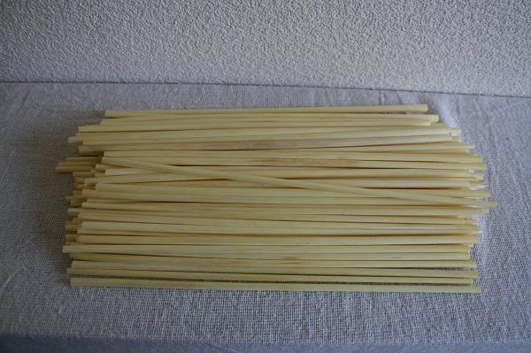 ヒンメリ&ストロースター用材料 麦わら22㎝漂白