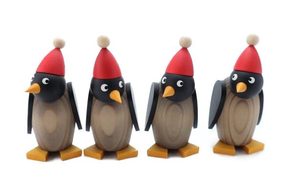 サンタペンギン子ども グレー