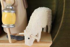 もしゃもしゃ羊の毛並み
